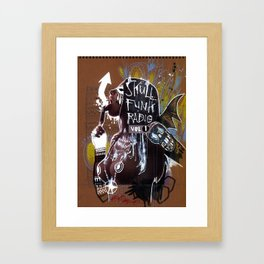 SKULL FUNK RADIO VOL. 1 Framed Art Print