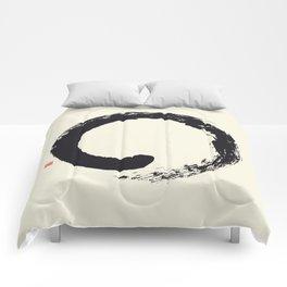 Enso / Japanese Zen Circle Comforters