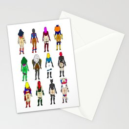 Superhero Butts - Girls Superheroine Butts Stationery Cards