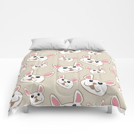 Frenchie Party! Comforters
