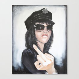 """FUCK **U"" Canvas Print"
