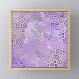 Experimental pattern 42 Framed Mini Art Print