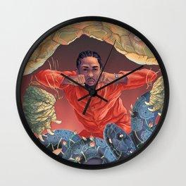 Kung Fu Kenny Wall Clock