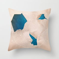 Holes in the Universe Throw Pillow