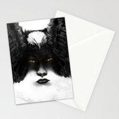 Golden Eyes Stationery Cards