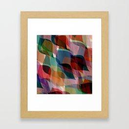 if you leaf me now Framed Art Print