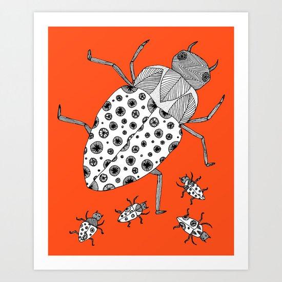 Roach Family Art Print