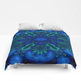 Battling At The Chasm Mandala 8 Comforters