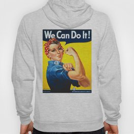 We can do it!, vintage poster, classic poster Hoody