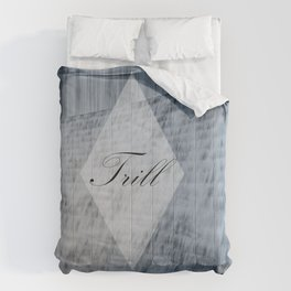 Trill Water Wall Comforters
