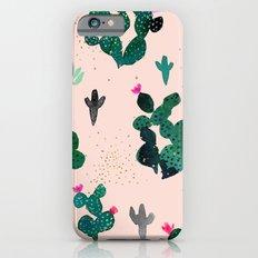Cactus Desert Pink Dusk Moon Slim Case iPhone 6s