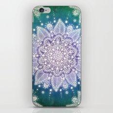 Peacock Mandala iPhone & iPod Skin
