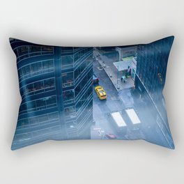 Taxicab of New York City Rectangular Pillow