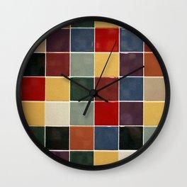 Checkers fine art photography Wall Clock