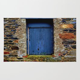 The Blue Door of Ballymascanlon Rug