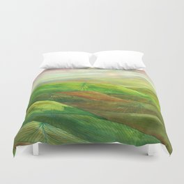 Lines in the mountains XVI Duvet Cover