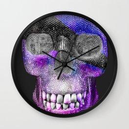 Rebel Skelly Wall Clock