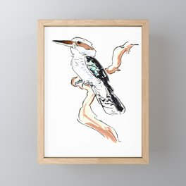Kookaburra Framed Mini Art Print