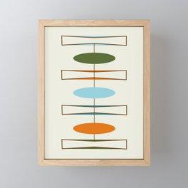 Mid-Century Modern Art 1.2 Framed Mini Art Print