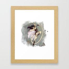 Punky fée Mélanne Framed Art Print