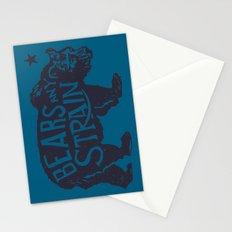 Bears Any Strain Stationery Cards