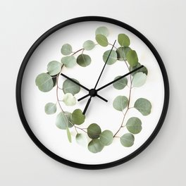 Eucalyptus Circle Wall Clock