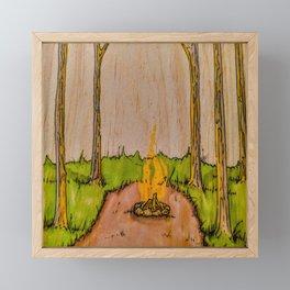The Pit Framed Mini Art Print