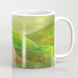 Lines in the mountains XVI Coffee Mug