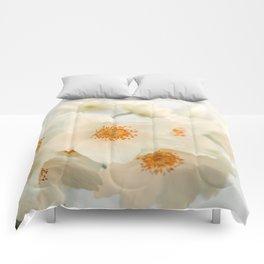 Pale Anemone #2 Comforters