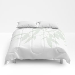 Leaves #Bamboo #Grey Comforters