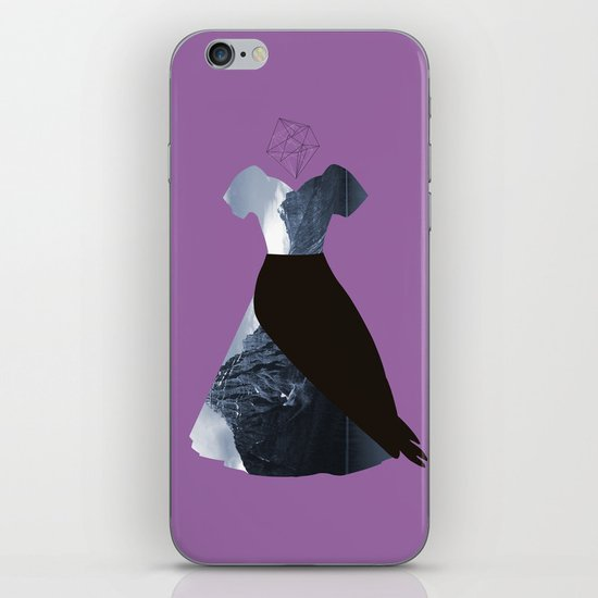 Filled with line iPhone & iPod Skin