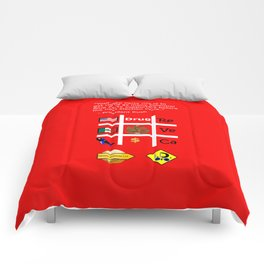 Red Party Comforters