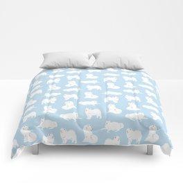 Samoyeds Print Comforters