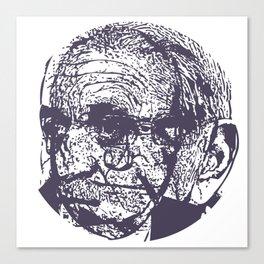 Faces, 7 Canvas Print