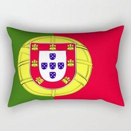 Portugal flag emblem Rectangular Pillow