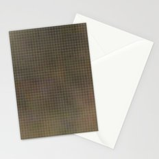 Pixels Green Stationery Cards