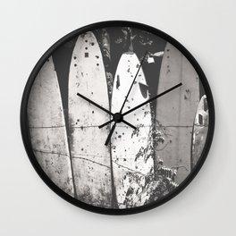 Dead Surfboard Wall Clock