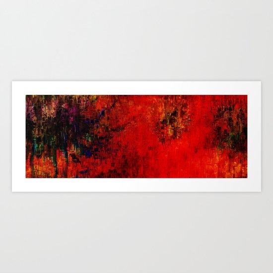 Dalia abstraction Art Print
