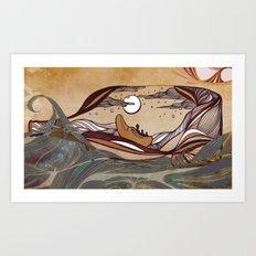 Winkin' Blinkin' & Nod Art Print