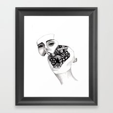Robot Framed Art Print