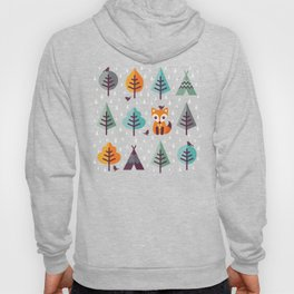 FOX IN THE FOREST Hoody