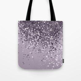Sparkling Lavender Lady Glitter #2 #shiny #decor #art #society6 Tote Bag