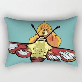 Hummingbird Moth Rectangular Pillow
