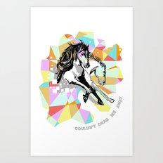Comic Art: Wild Hearts Art Print