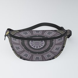 Embroidery beads and beads Fanny Pack