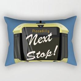 Next Stop! Piccadilly Rectangular Pillow