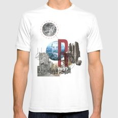 The Great Purge  MEDIUM White Mens Fitted Tee
