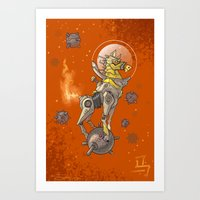 Astro Zodiac Force 07: Horse Art Print