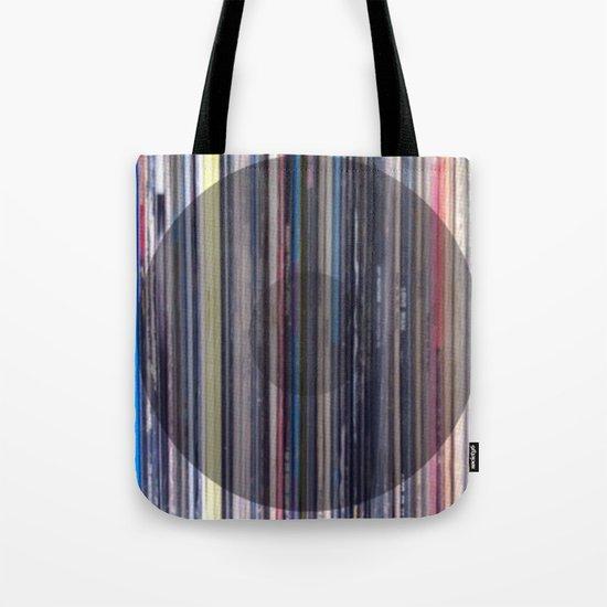 Vinyl Choice Tote Bag