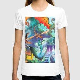 Wings of fire all dragon bg T-shirt